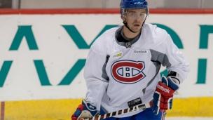 Alex Belzile demeure avec le Canadien