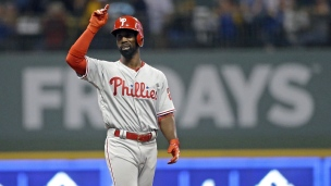 Phillies 6 - Brewers 4