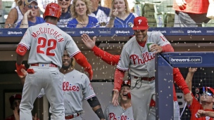 Phillies 7 - Brewers 2