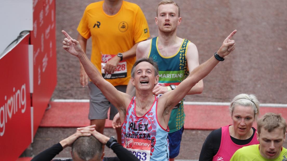 Des coureurs au marathon de Londres.