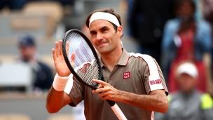 Federer convaincant à Paris après 4 ans d'absence