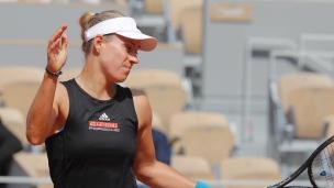 Kerber surprise d'entrée à Roland-Garros