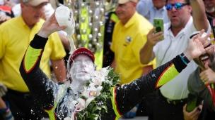 Pagenaud remporte un Indy 500 plein d'action