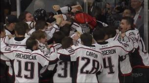 3, 2, 1! Les Huskies remportent la Coupe Memorial!