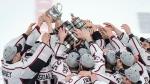 Les Huskies champions