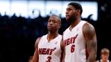 Dwyane Wade et LeBron James