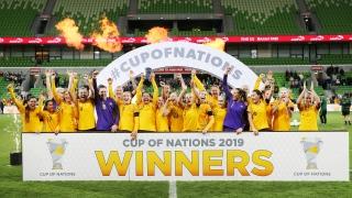 Coupe des nations, Australie, soccer féminin