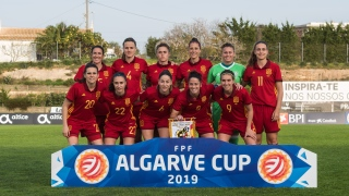 Équipe soccer féminin, Espagne, 2019