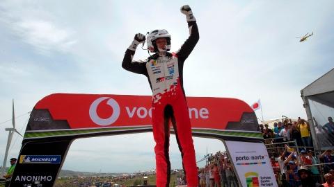 Ott Tänak remporte le rallye du Portugal