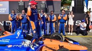 IndyCar : victoire de Dixon à Detroit