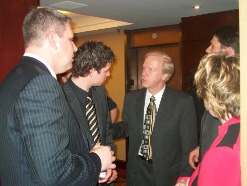 Bertrand Raymond et la famille Crosby