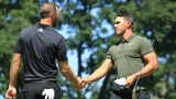 Dustin Johnson et Brooks Koepka