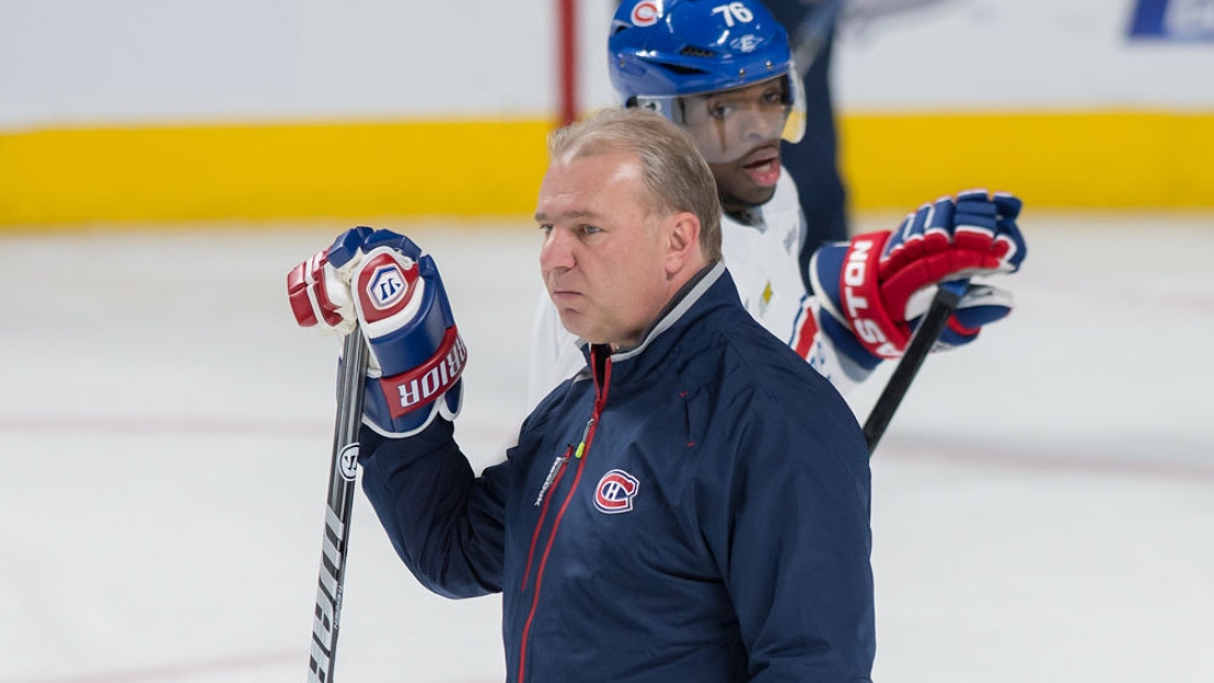 Michel Therrien et P.K. Subban