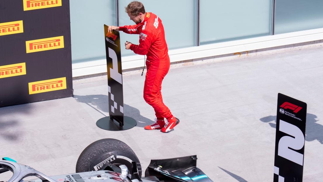 Le geste incroyable de Vettel après le Grand Prix du Canada