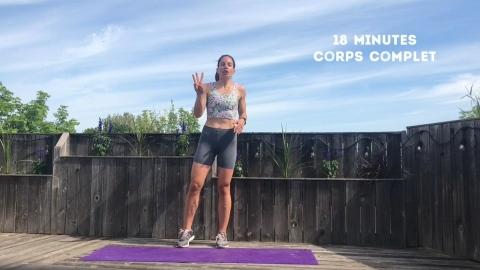 Entraînement par intervalles : corps complet, 18 minutes