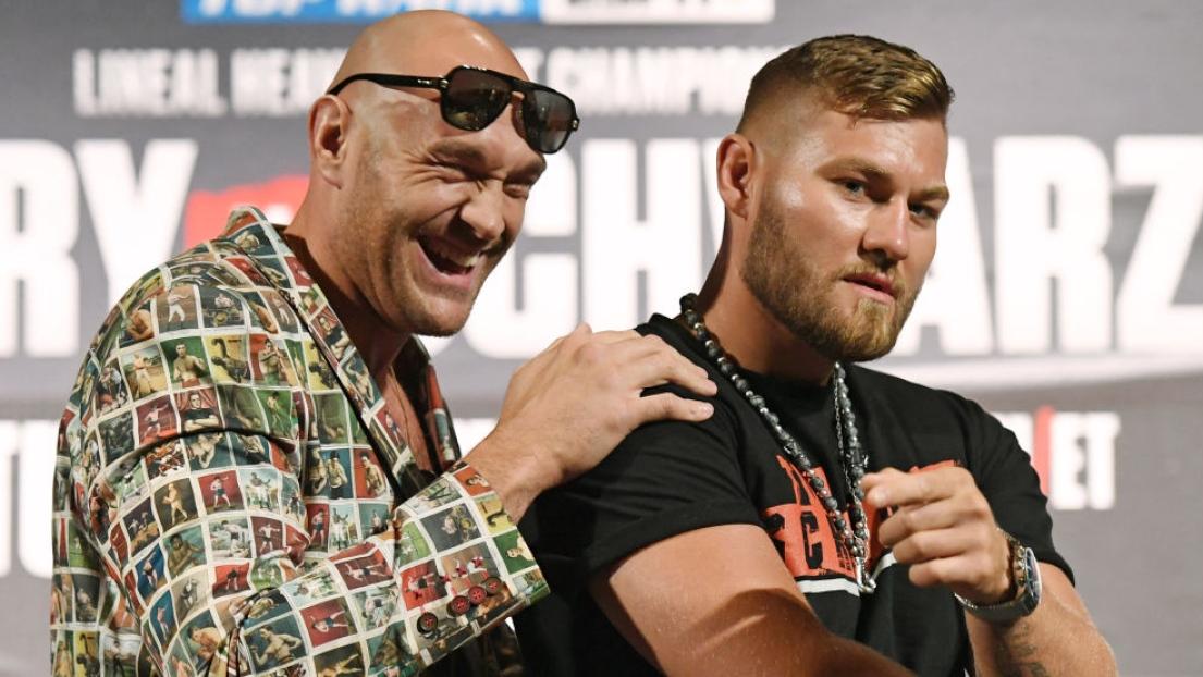 Tyson Fury et Tom Schwarz