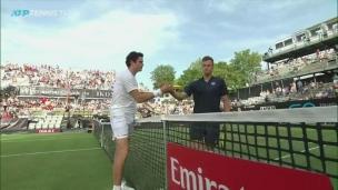 Raonic rejoint Auger-Aliassime en demi-finale