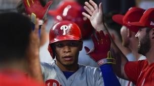 Phillies 6 - Braves 5