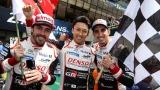 Fernando Alonso, Kazuki Nakajima et Sébastien Buemi