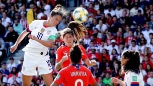 États-Unis 3 - Chili 0