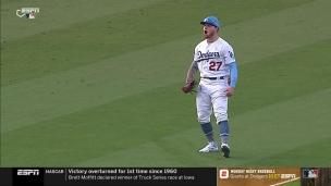 Les Dodgers tiennent bon grâce à Verdugo