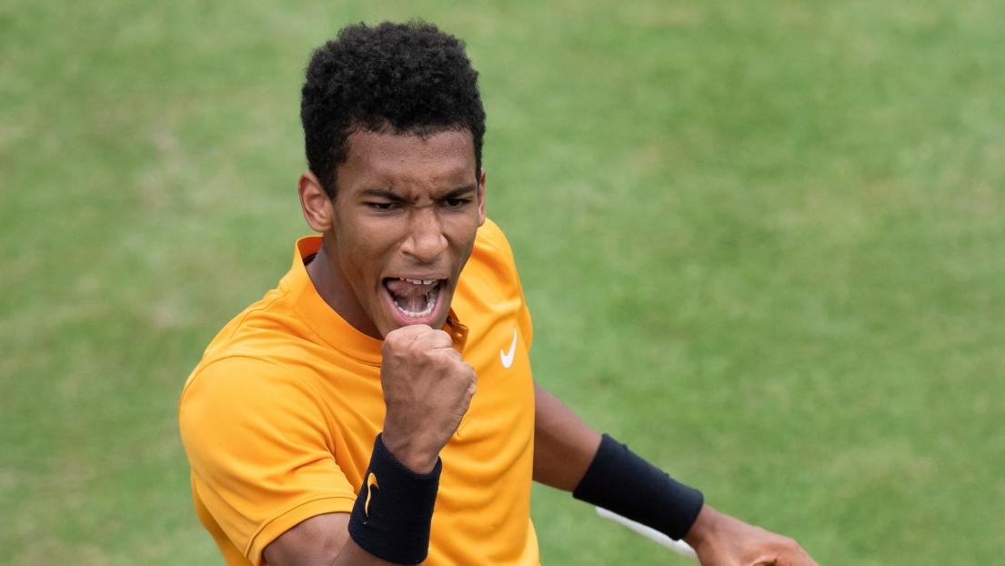 Tennis: Lopez sort Auger-Aliassime et rejoint Simon en finale au Queen's
