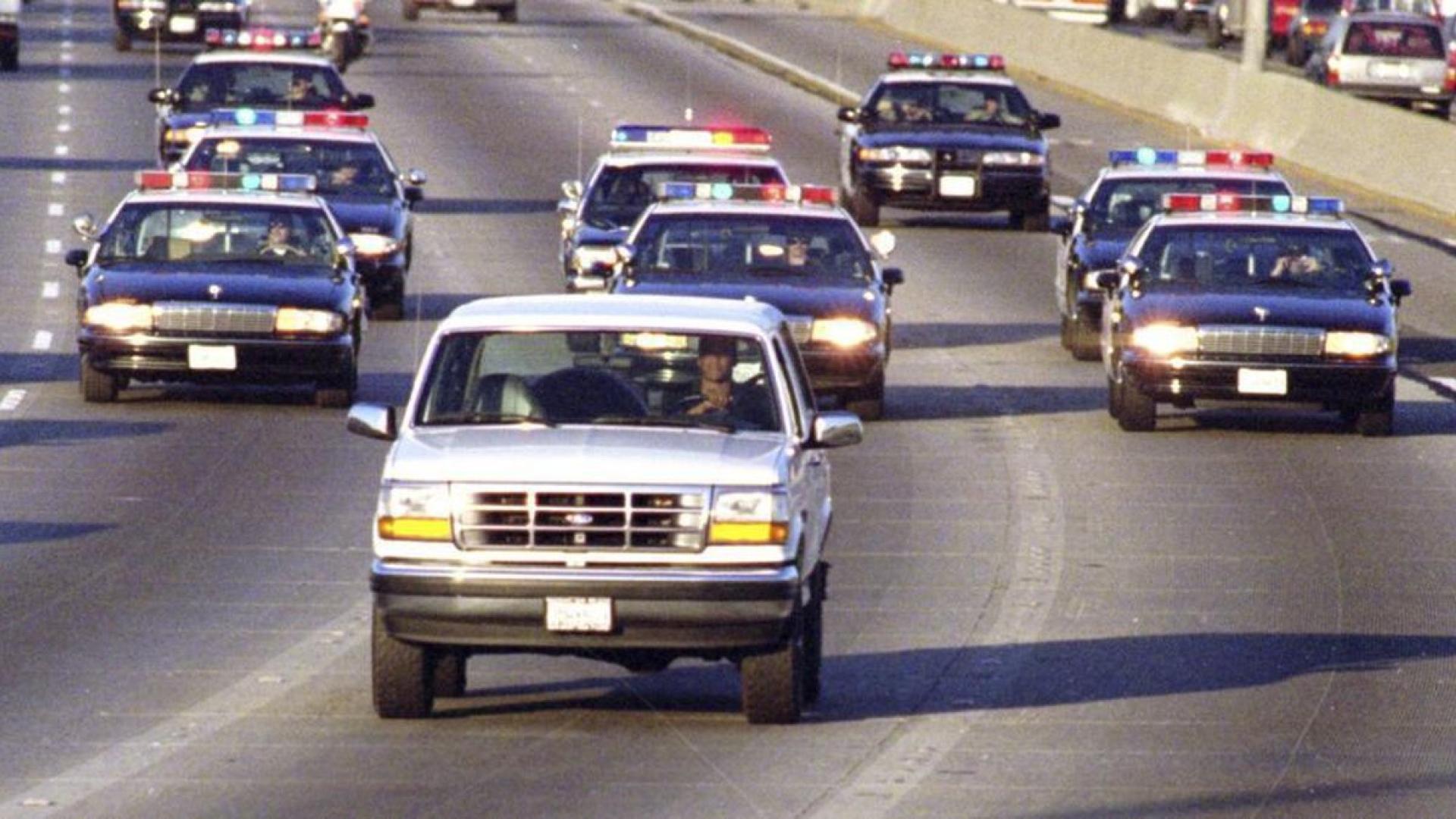 La célèbre poursuite sur l'autoroute 405
