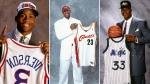 Les meilleurs premiers choix de l'histoire du repêchage de la NBA