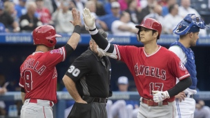 Angels 10 - Blue Jays 5
