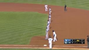 Top-5: Déplacements défensifs au baseball