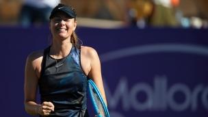 Retour victorieux pour Maria Sharapova