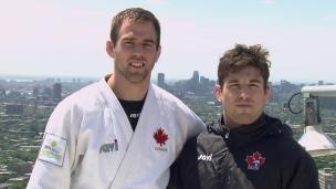 Une saine rivalité pour deux judokas québécois