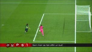 Oups! La Jamaïque donne un but à Sam Kerr!