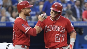 Angels 11 - Blue Jays 6