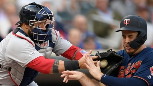 Red Sox 9 - Twins 4