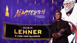 Un discours émouvant de Robin Lehner