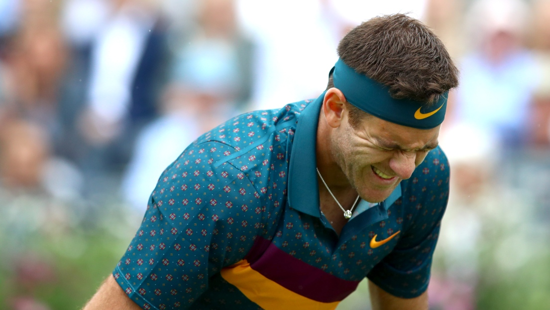 Nouveau coup du sort pour Del Potro — Tennis