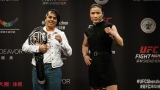 Jessica Andrade et Weili Zhang