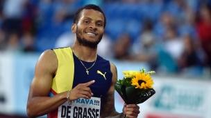 De Grasse gagne le 200 m à Ostrava