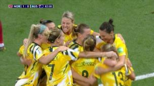 L'Australie égalise en fin de match