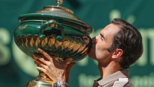 Roger Federer sacré pour la 10e fois à Halle