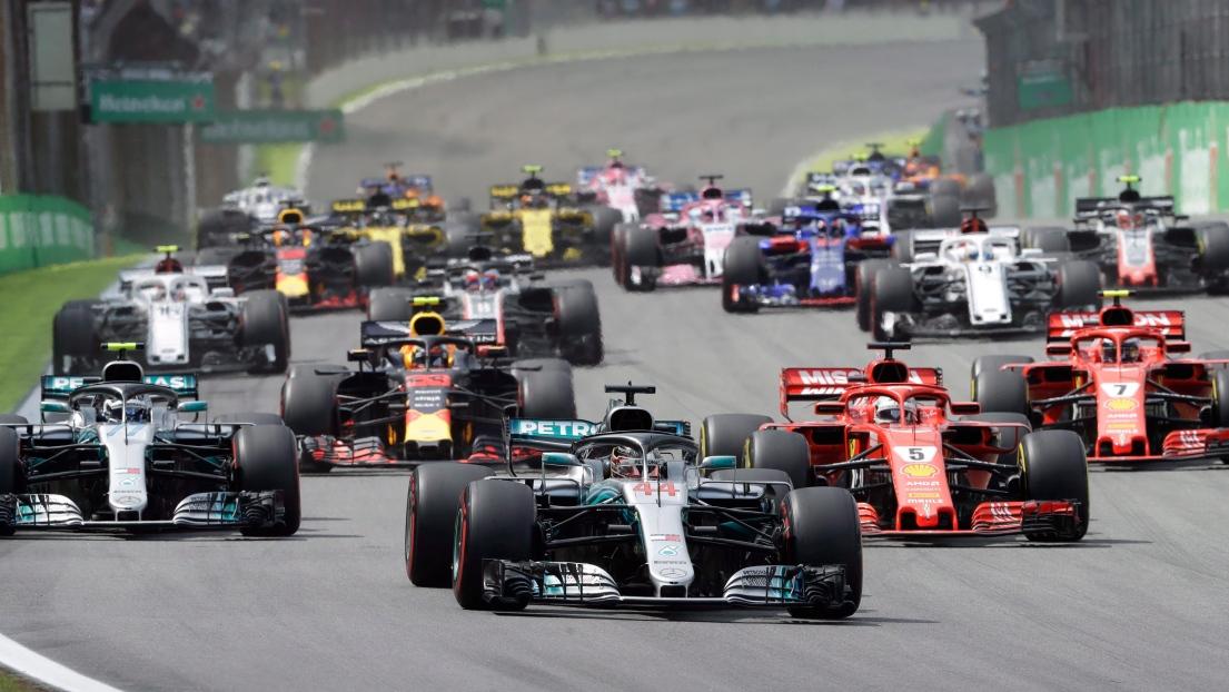 Le Grand Prix du Brésil à Sao Paulo