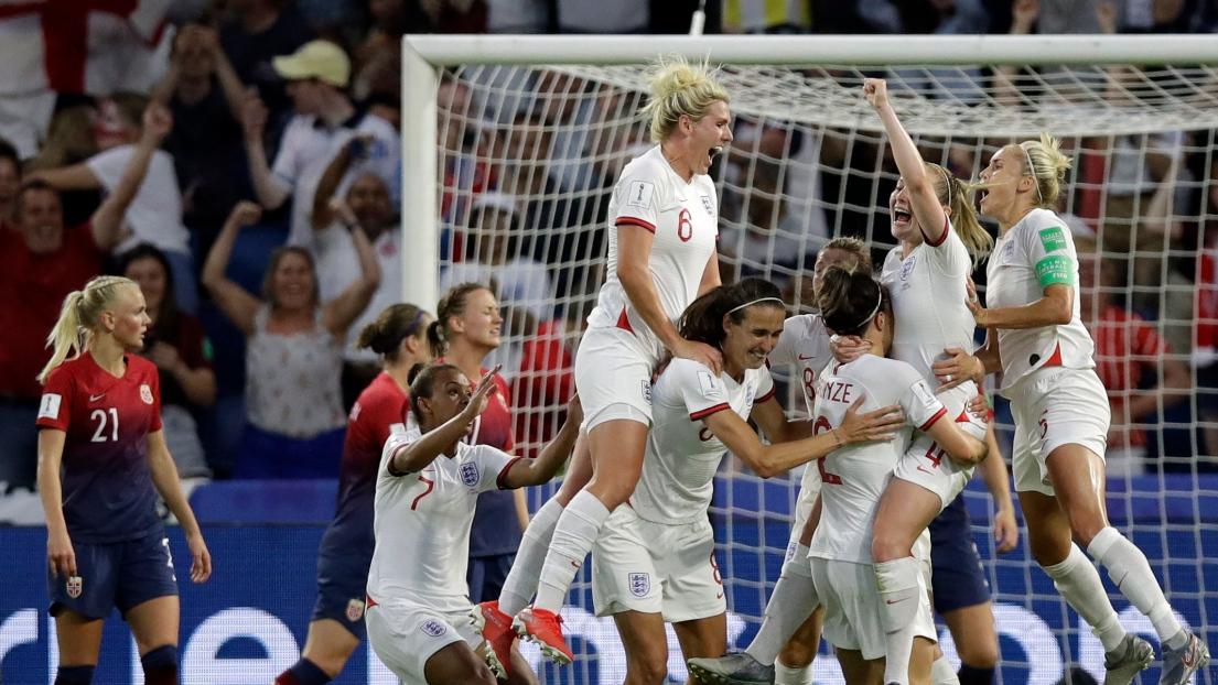 L'Angleterre écrase la Norvège et file en demi-finales