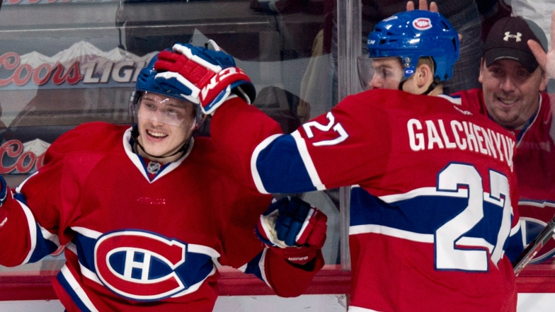 Brendan Gallagher et Alex Galchenyuk