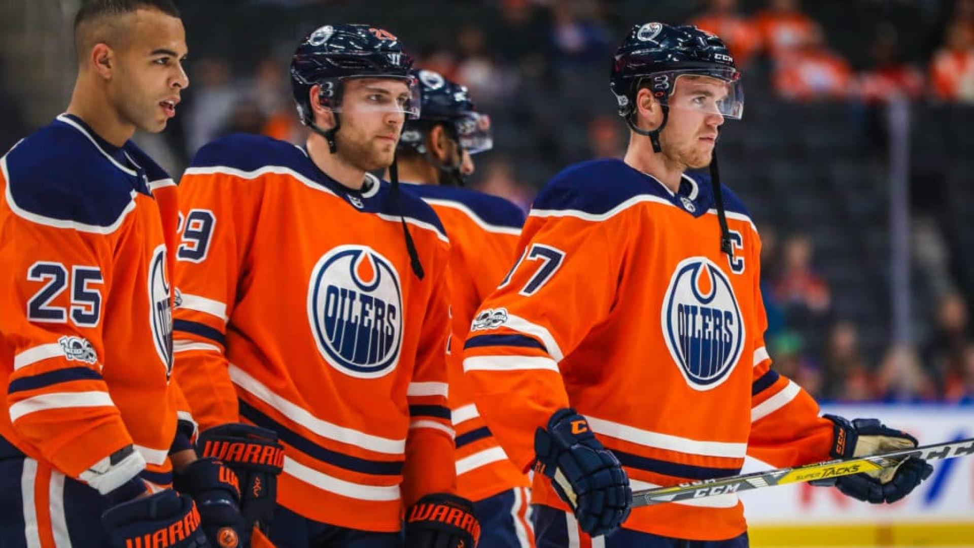Nurse, Draisaitl et McDavid auront fort à faire s'ils veulent retrouver le hockey de printemps.