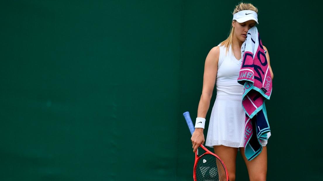 La porte de sortie pour Eugenie Bouchard — Wimbledon