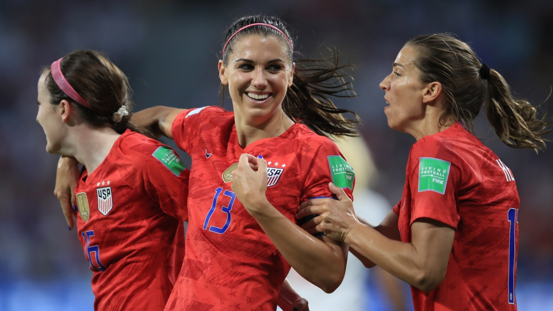Alex Morgan (USA) a accouché de son premier enfant, une fille