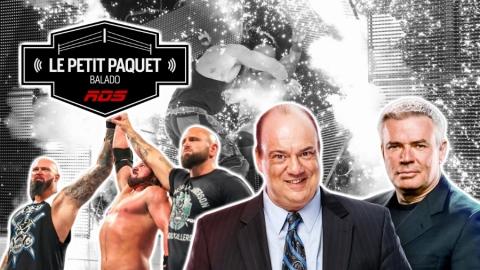 Le petit paquet : l'effet Heyman à Raw