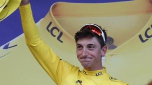 Un nouveau détenteur du maillot jaune au Tour de France