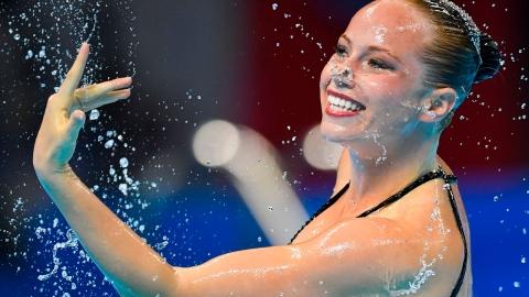 Sept médailles canadiennes en natation artistique